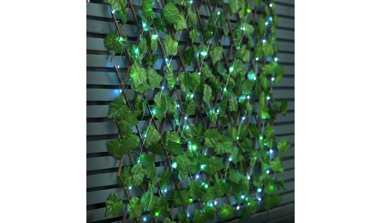 Argos Home Solar Expanding Light Up Faux Trellis