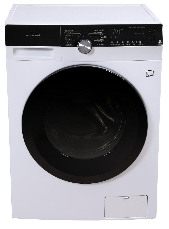 New World NWDH8XWD 8KG / 6KG 1400 Spin Washer Dryer - White