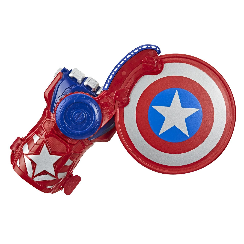 NERF Power Moves Marvel Avengers Captain America Shield