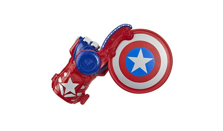 NERF Power Moves Marvel Avengers Captain America Shield