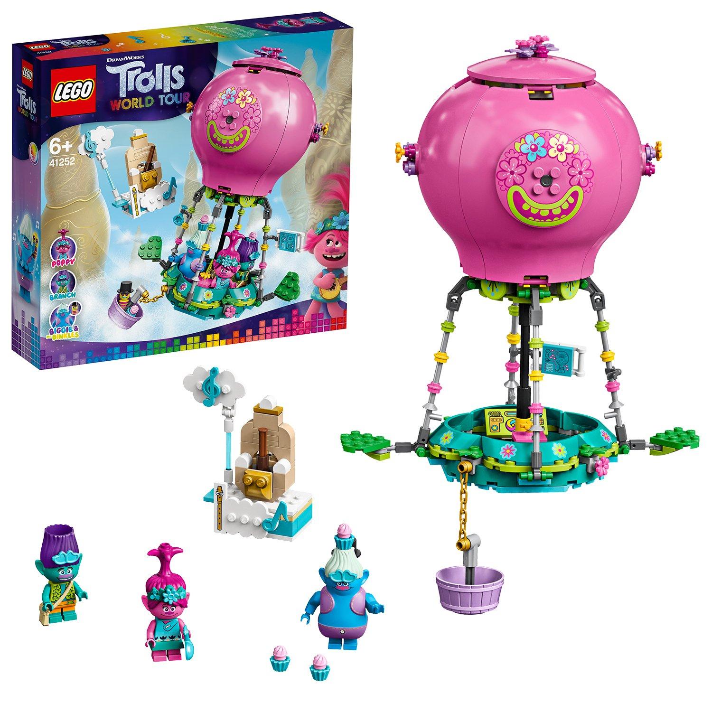 Buy LEGO Trolls Poppy's Hot Air Balloon Adventure Playset- 41252 ...