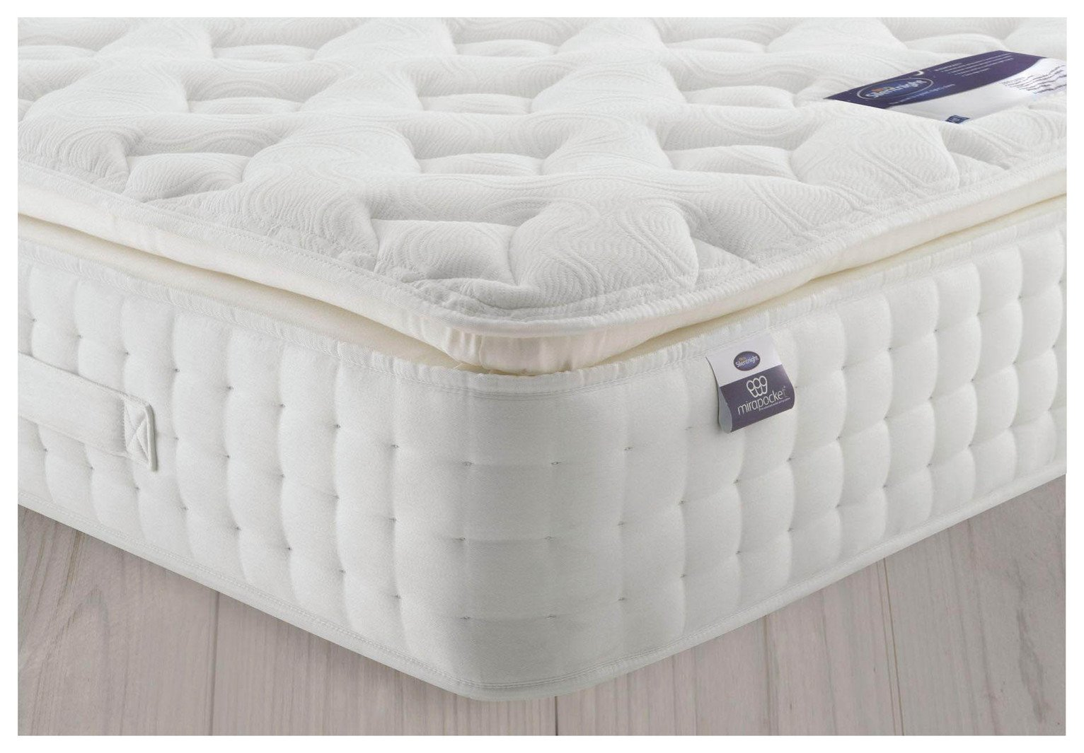 Silentnight Knightly 2800 Latex Pillowtop Double Mattress