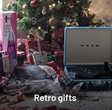 Retro gifting.