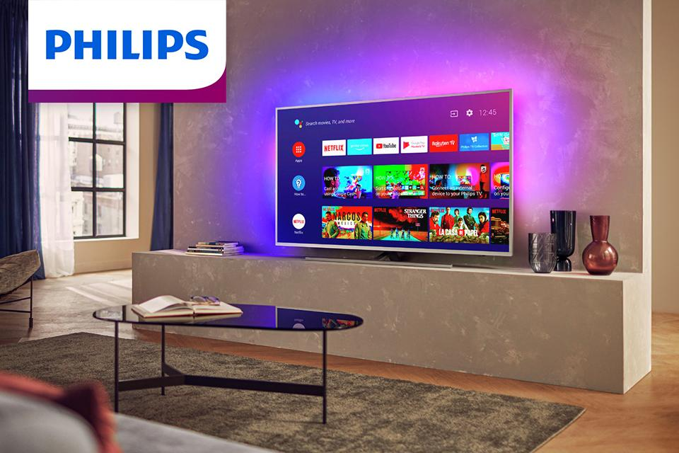 Win a Philips Ambilight TV.