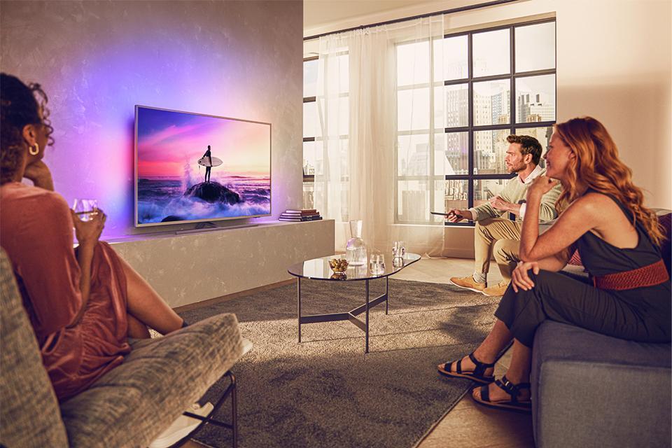 Win a Philips Ambilight TV.