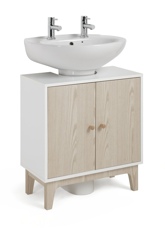Argos Home Apartment Under Sink Unit - Two Tone
