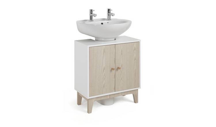 Argos Home Apartment Under Sink Unit - Two Tone