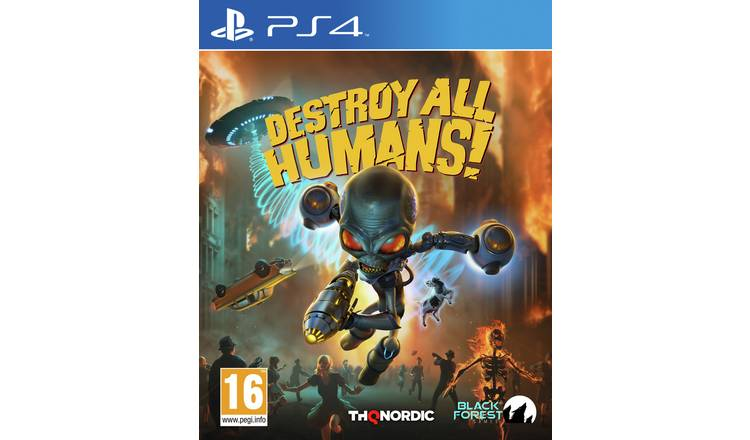 Destroy All Humans Remake PS4 Game