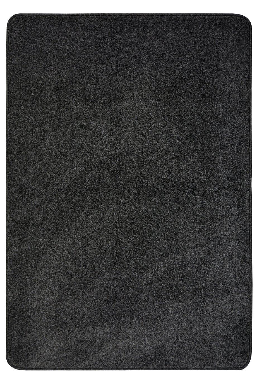 Homemaker Relay Plain Short Pile Rug - 100x145cm - Charcoal