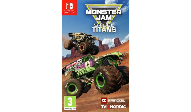 Monster Jam: Steel Titans Nintendo Switch Game