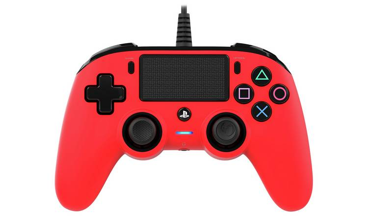Nacon Compact PS4 Wired Controller - Red