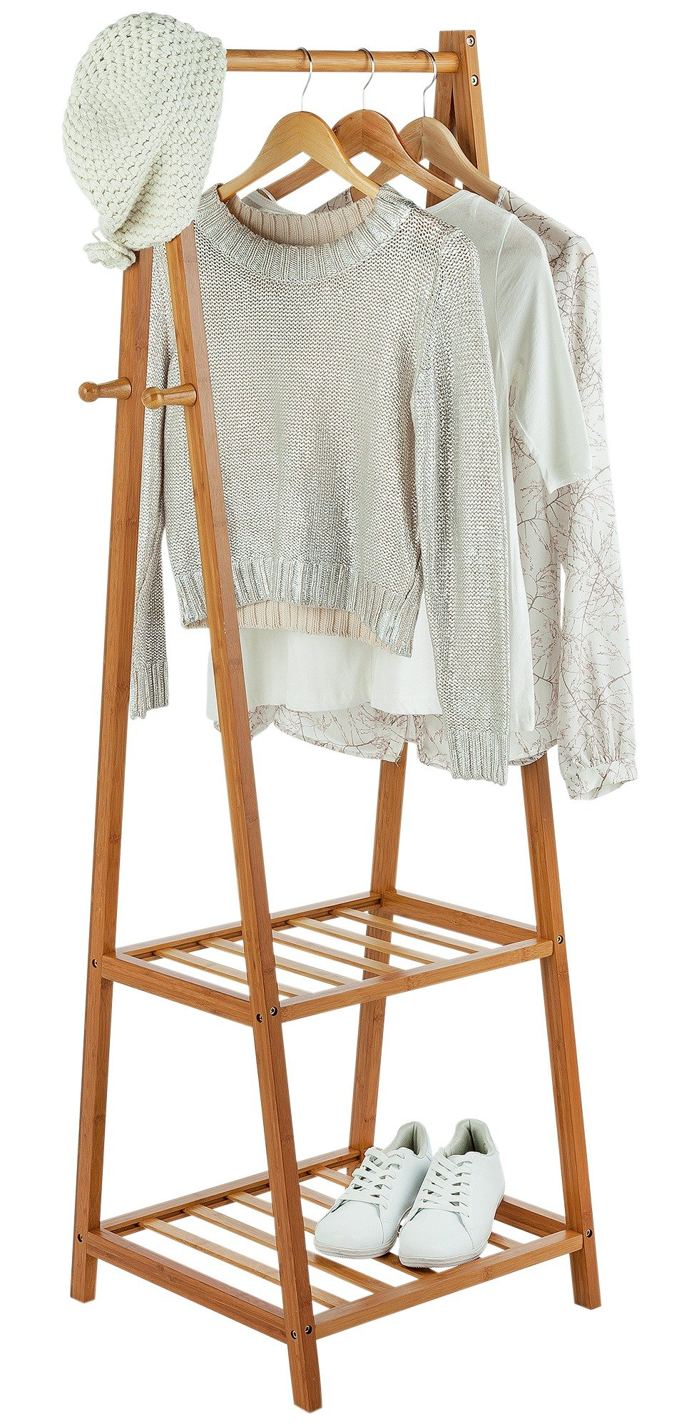 Image of Collection Belvoir Bamboo Half Size Clothes Rail