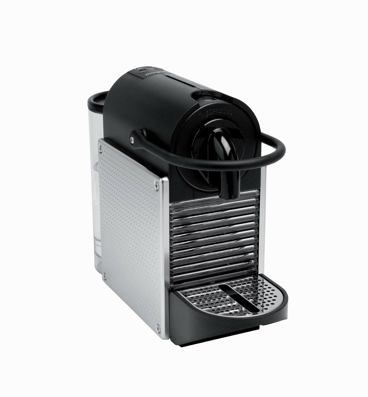 Nespresso by Magimix Pixie Pod Coffee Machine - Aluminium