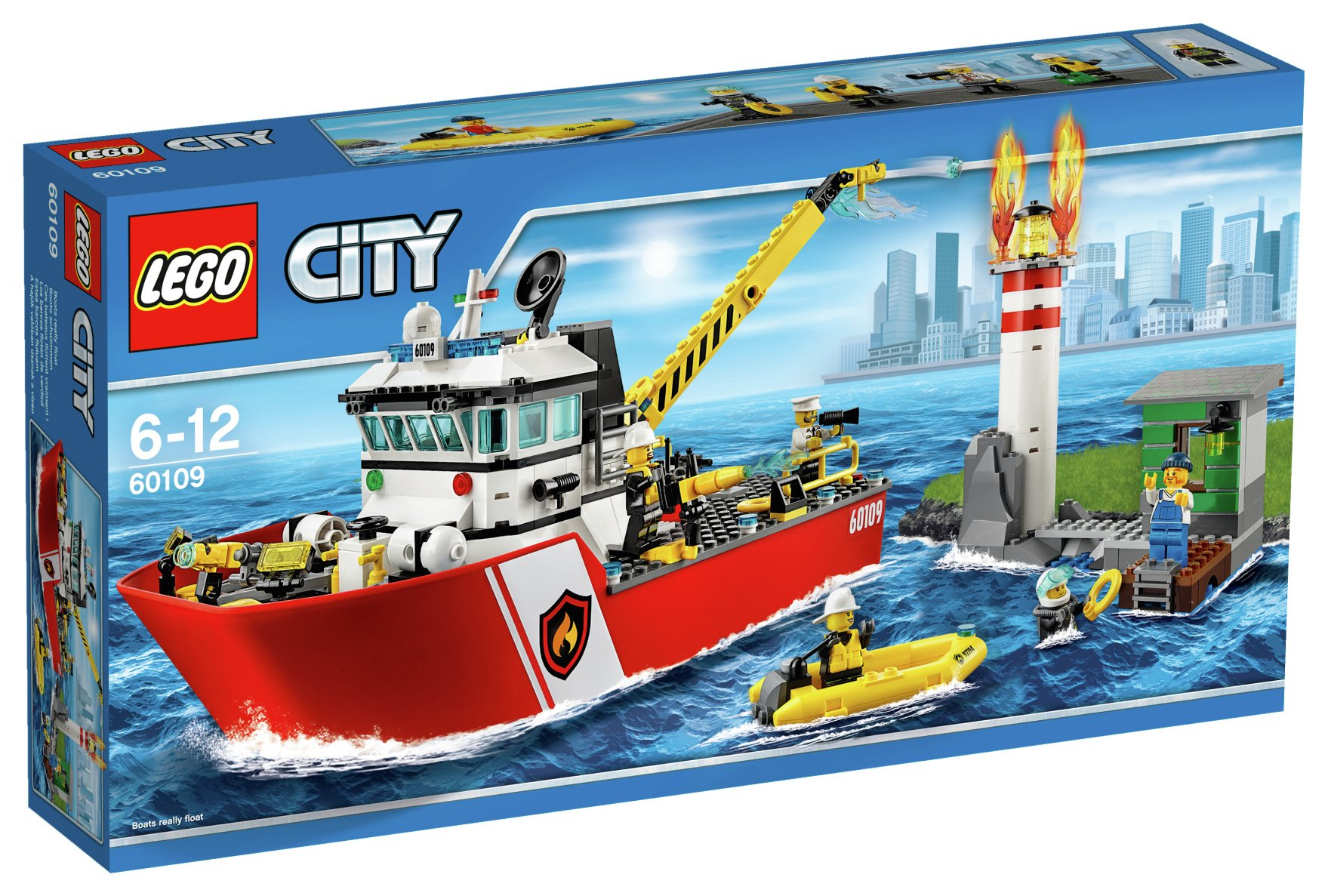 Image of LEGO - Fire Boat - 60109