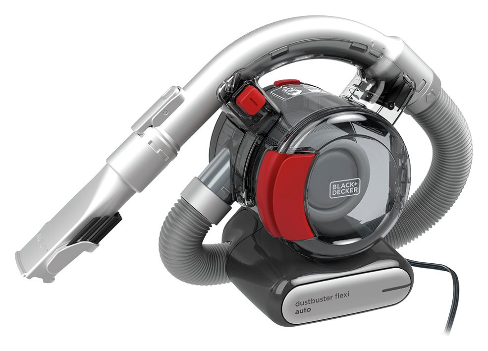 Black + Decker 12V Auto Flexi Car Vacuum