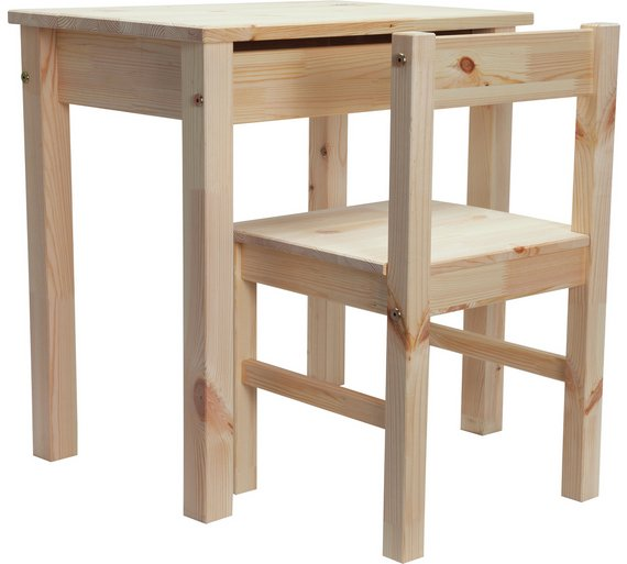 desk and chair pine at your online shop for children