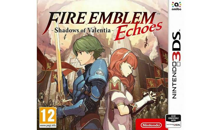 Fire Emblem Echoes: Shadows of Valentia Nintendo 3DS Game