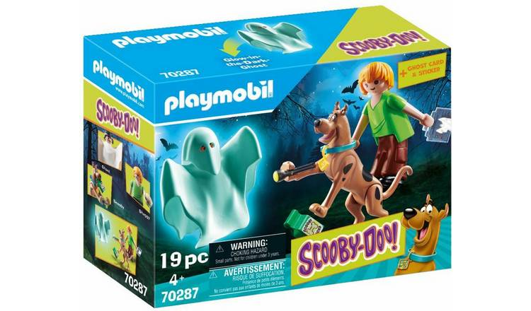 Playmobil 70287 Scooby Doo Shaggy and Ghost Playset