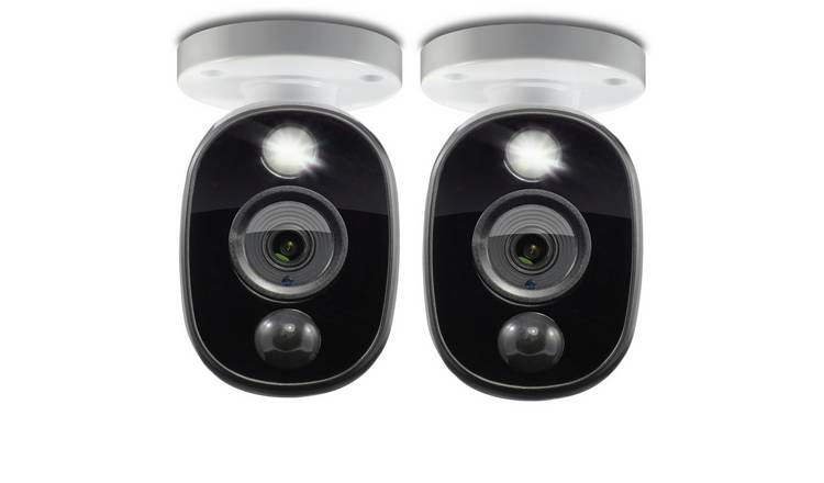 Swann Full HD Spotlight 1080p CCTV Camera - Twin Pack