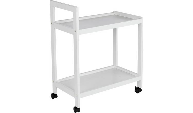 Argos Home Tea Trolley - White