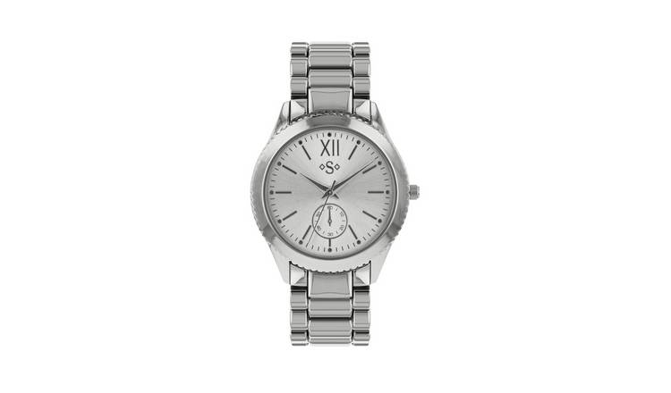 Spirit Ladies Silver Stainless Steel Bracelet Watch