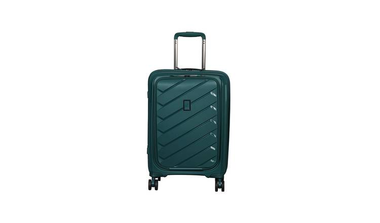 it Luggage Pocket 8 Wheel Hard Cabin Suitcase