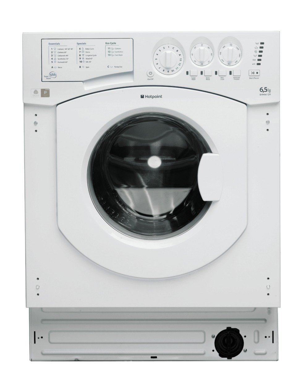 Image of Hotpoint BHWM1292 7KG 1200 Spin Washing Machine - White