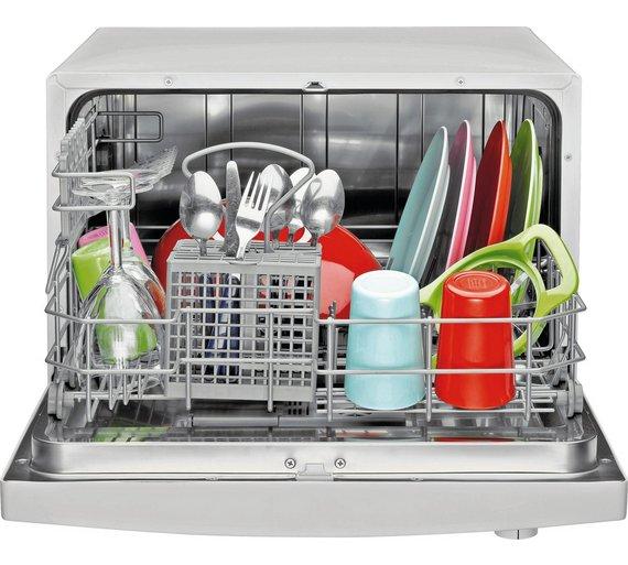 Buy Indesit ICD661 Freestanding Compact Dishwasher - White at ...
