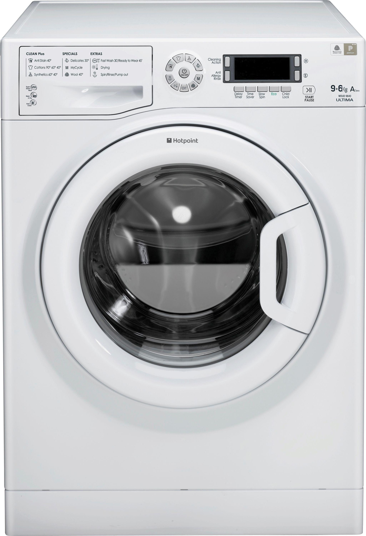 Hotpoint WDUD9640P Washer Dryer - White