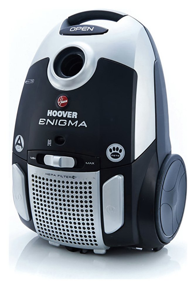 Hoover - Enigma TE70EN26 Pets Bagged Cylinder Vacuum Cleaner