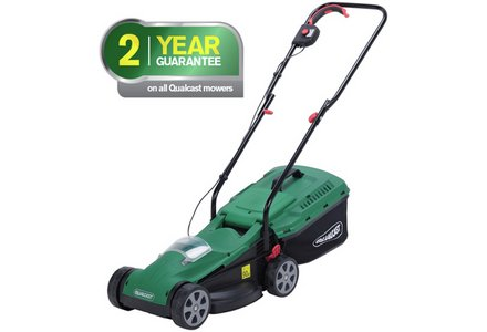 Image of the Qualcast Cordless Lawnmower - 24V Lithium 4Ah Battery.
