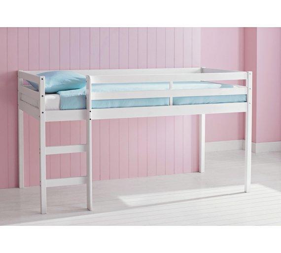 Argos Home Kaycie Shorty Mid Sleeper With Mattress