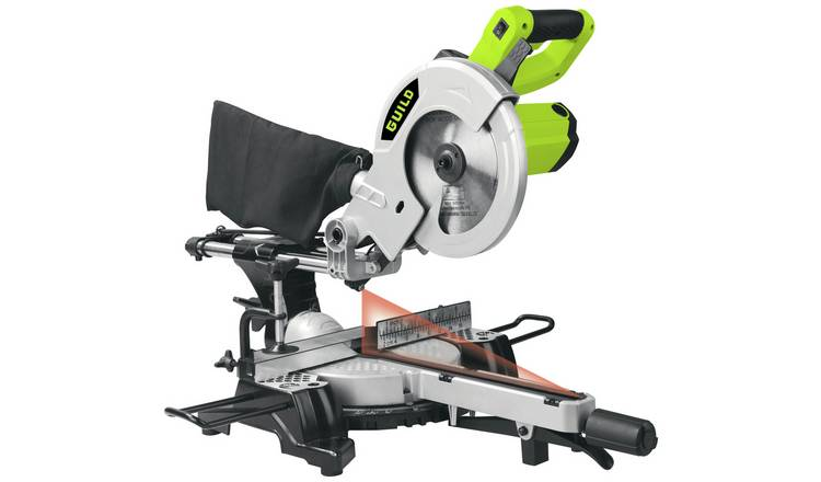 Guild 210mm Sliding Mitre Saw with Laser - 1700W