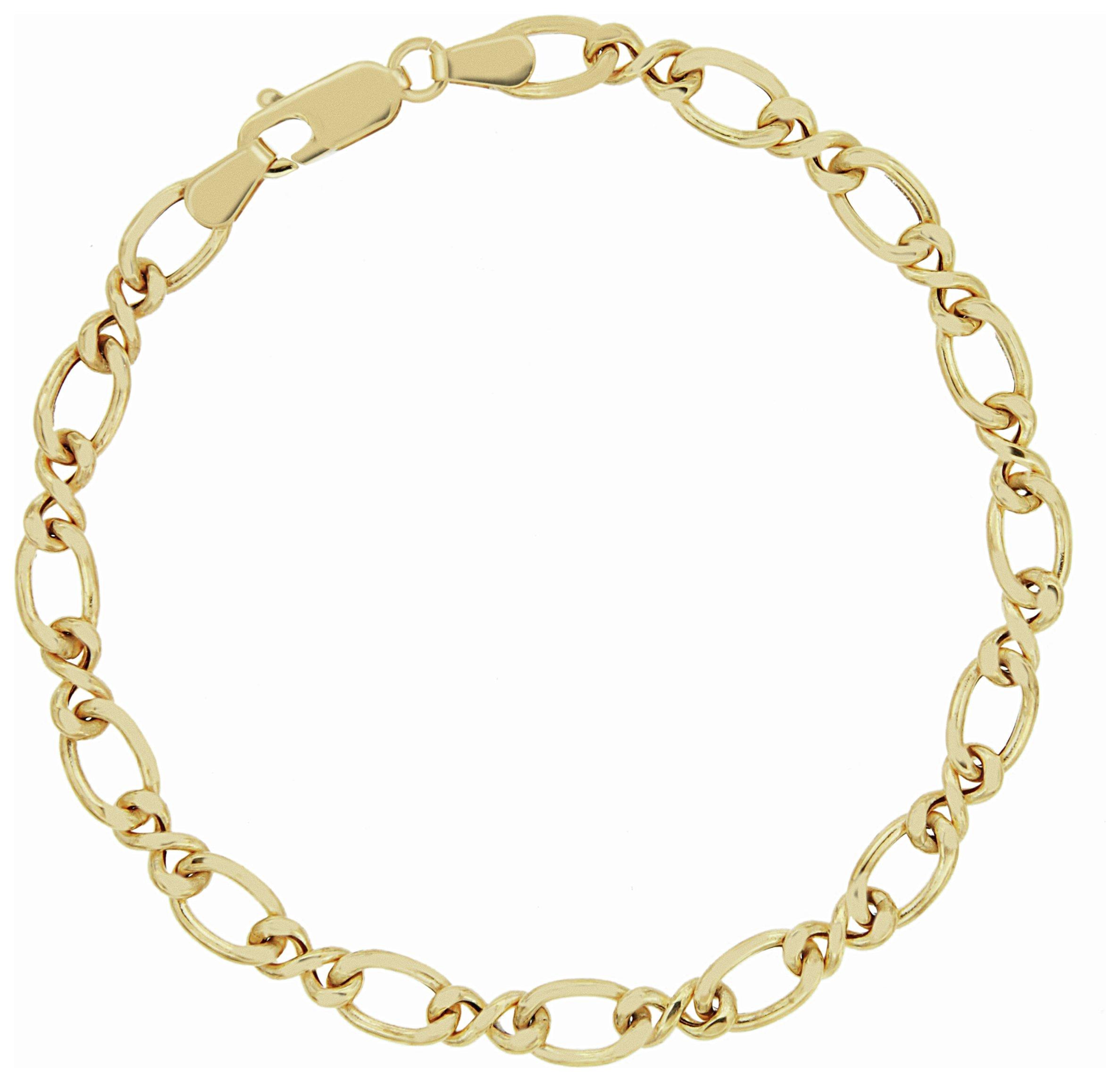 Image of Bracci - 9 Carat Gold - Infinity Link Bracelet.
