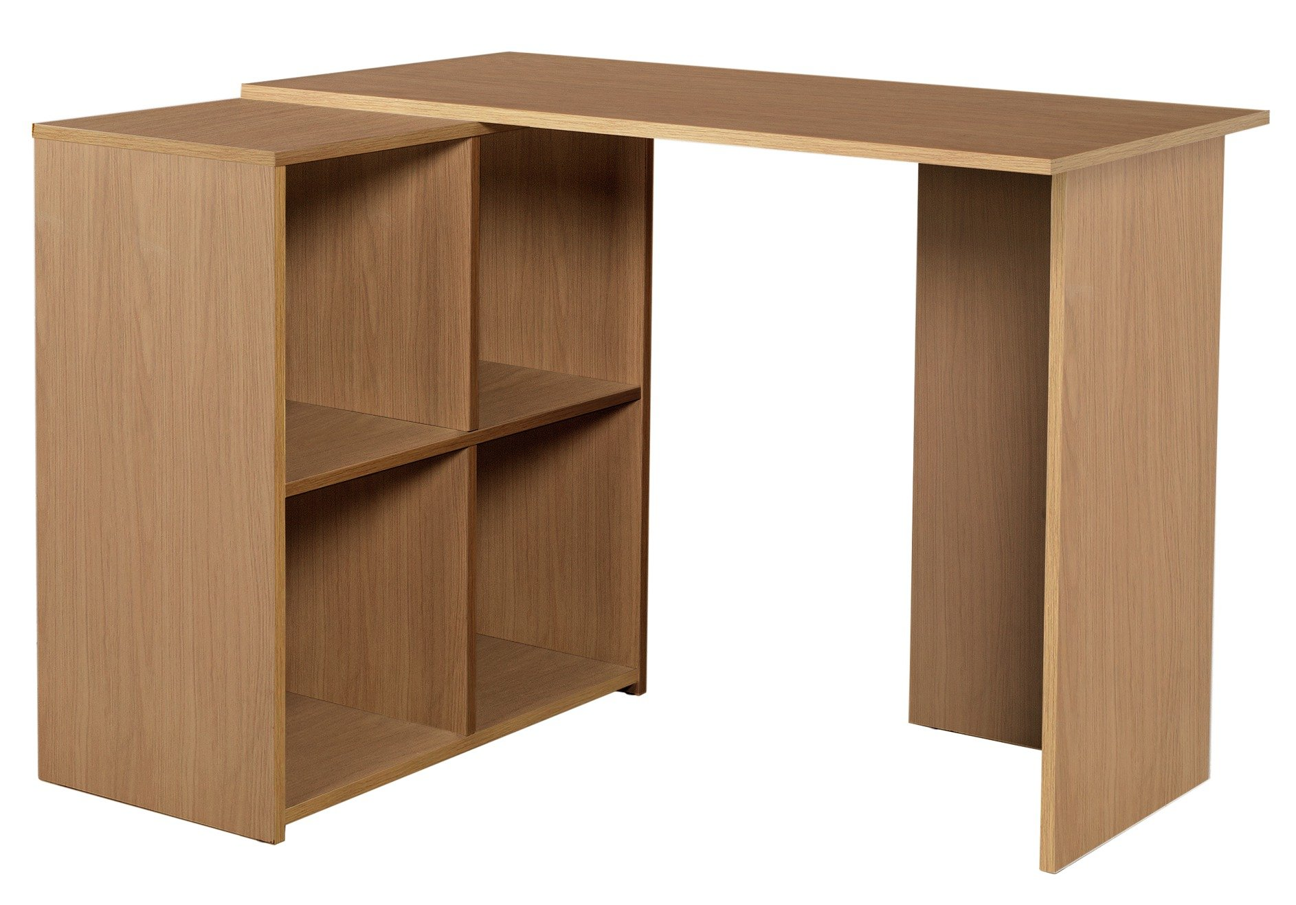 Image of Calgary - Corner - Desk - Oak Effect