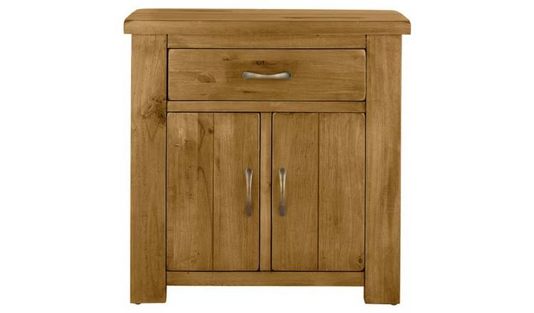 Argos Home Arizona 2 Door 1 Drawer Solid Pine Sideboard