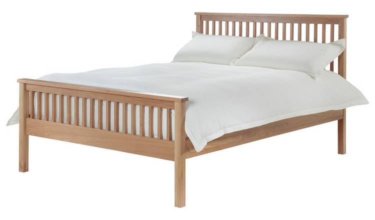 Silentnight Dakota Kingsize Bed Frame - Natural