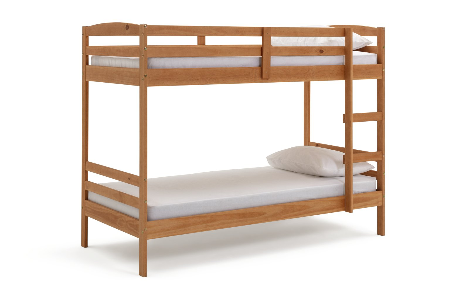 Argos Home Josie Pine Bunk Bed & 2 Kids Mattresses