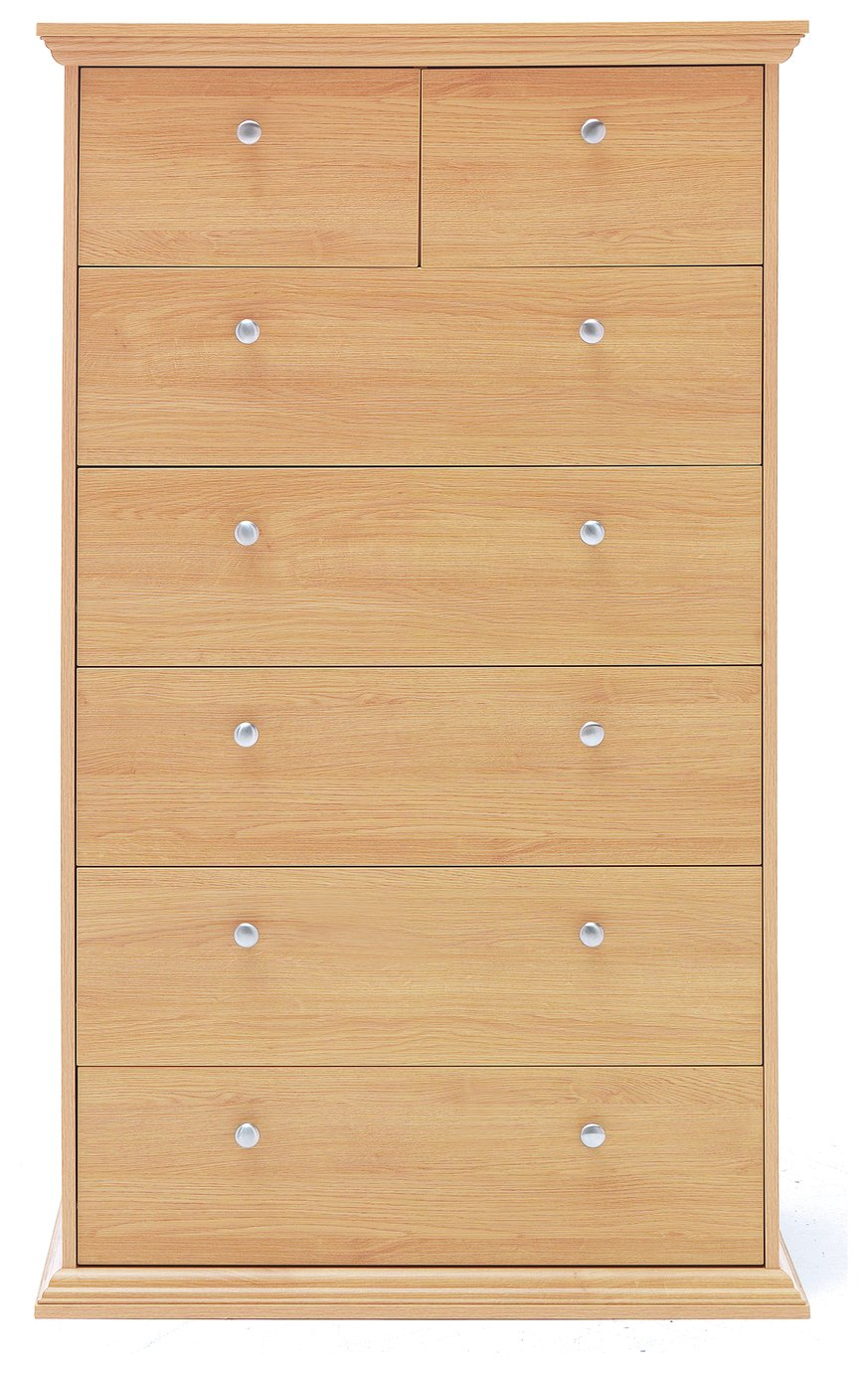Oak Effect Bedroom Furniture Sets Buy Solid Wood Chest Of Drawers At Argoscouk Your Online Shop