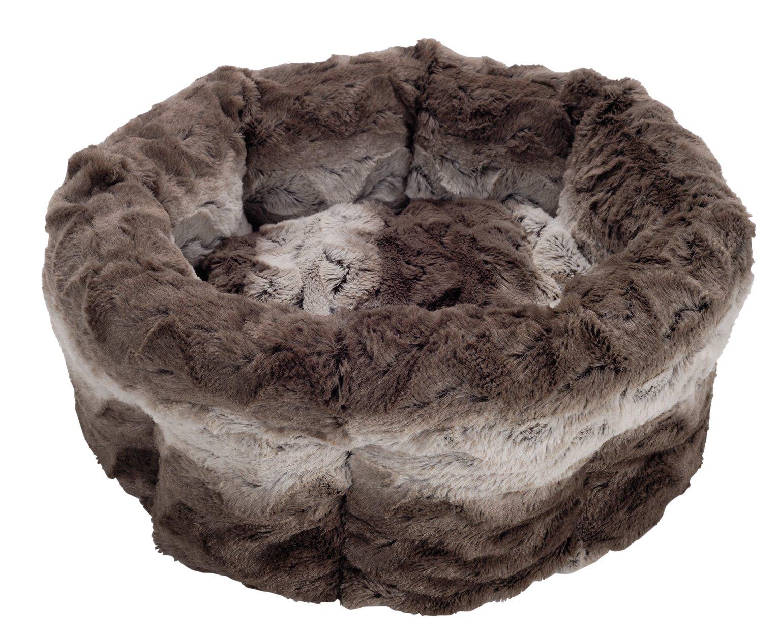 Rosewood Swirl Cat Bed