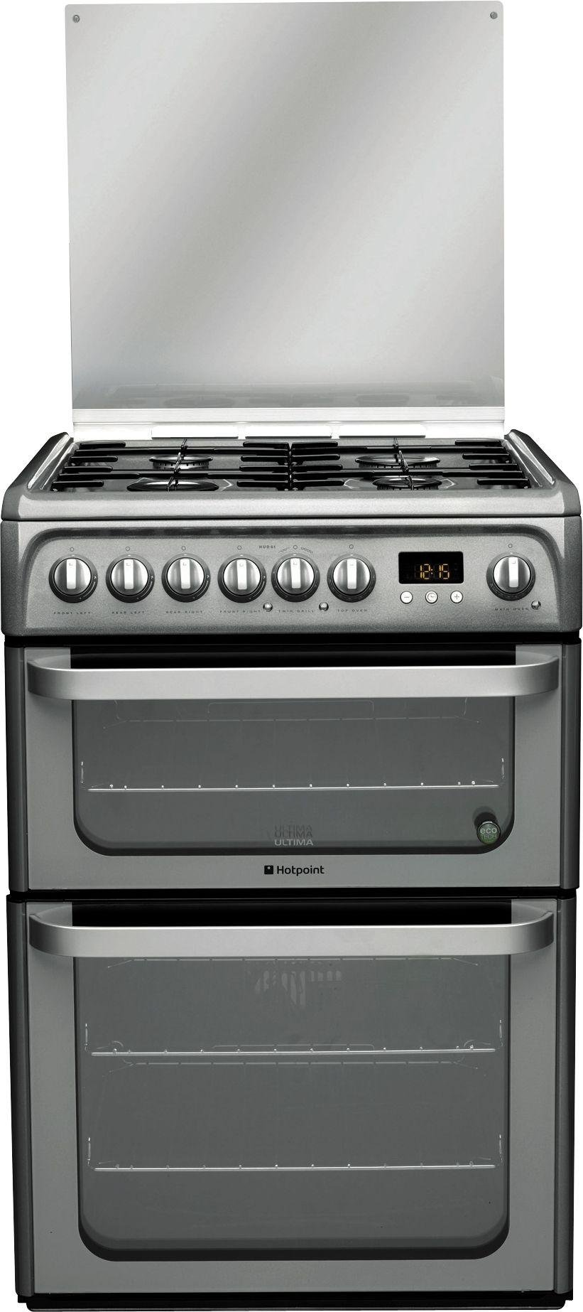 Hotpoint - HUD61G - Dual Fuel Cooker