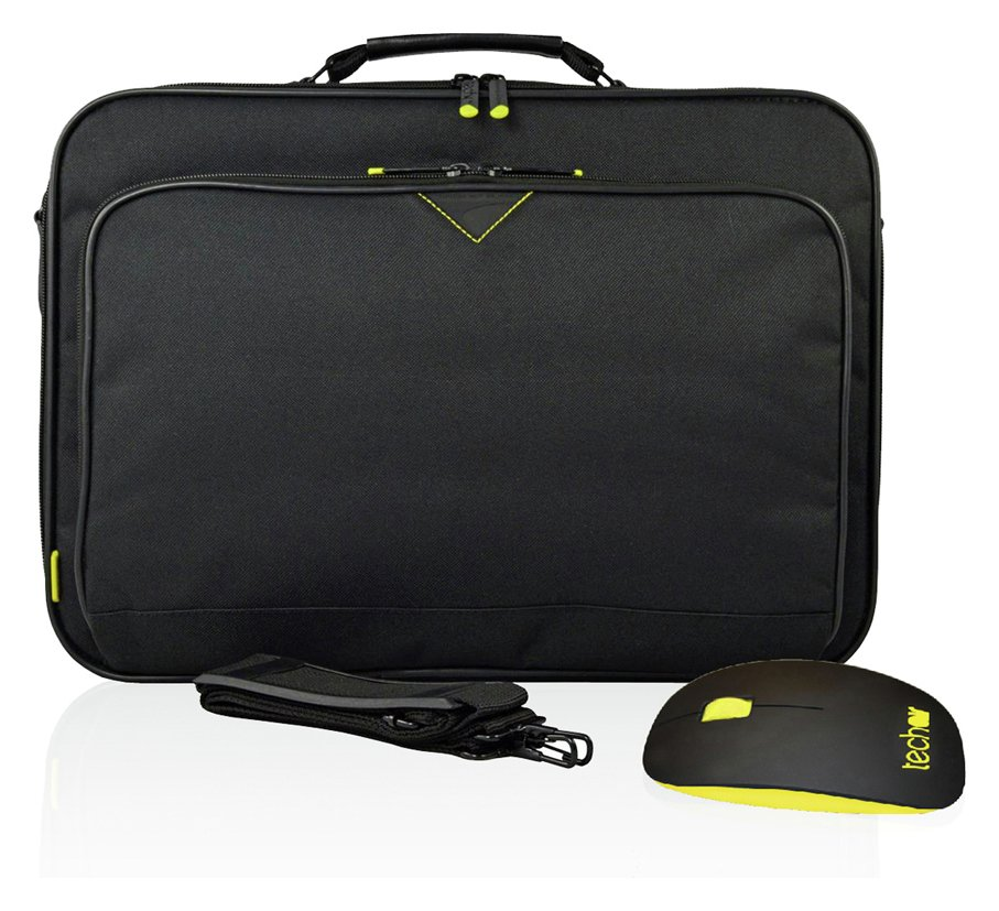 Techair Techair - Bag and Mouse 17 Inch Bundle