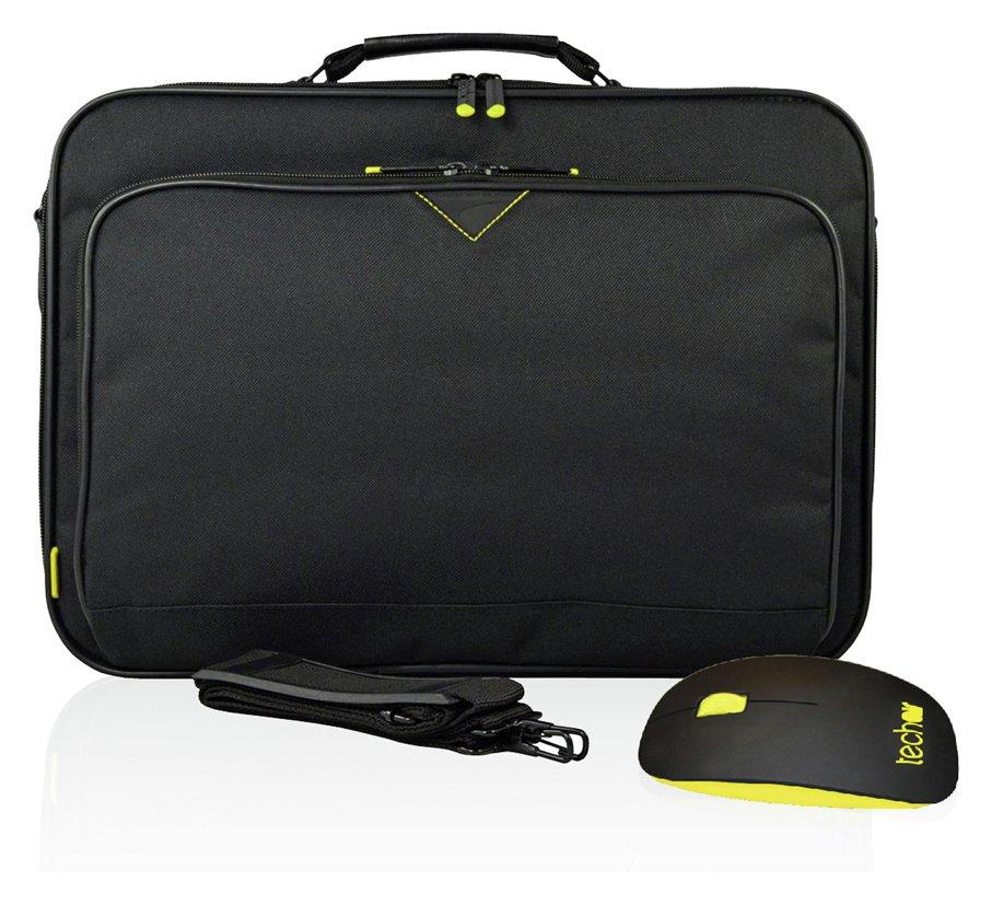 Techair - Bag and Mouse 17 Inch Bundle