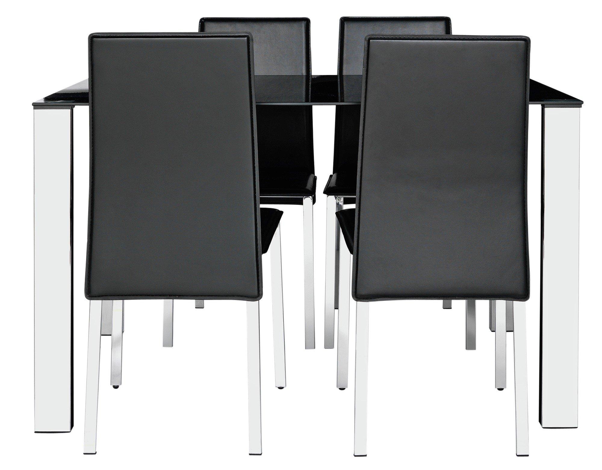 Black Glass Tables
