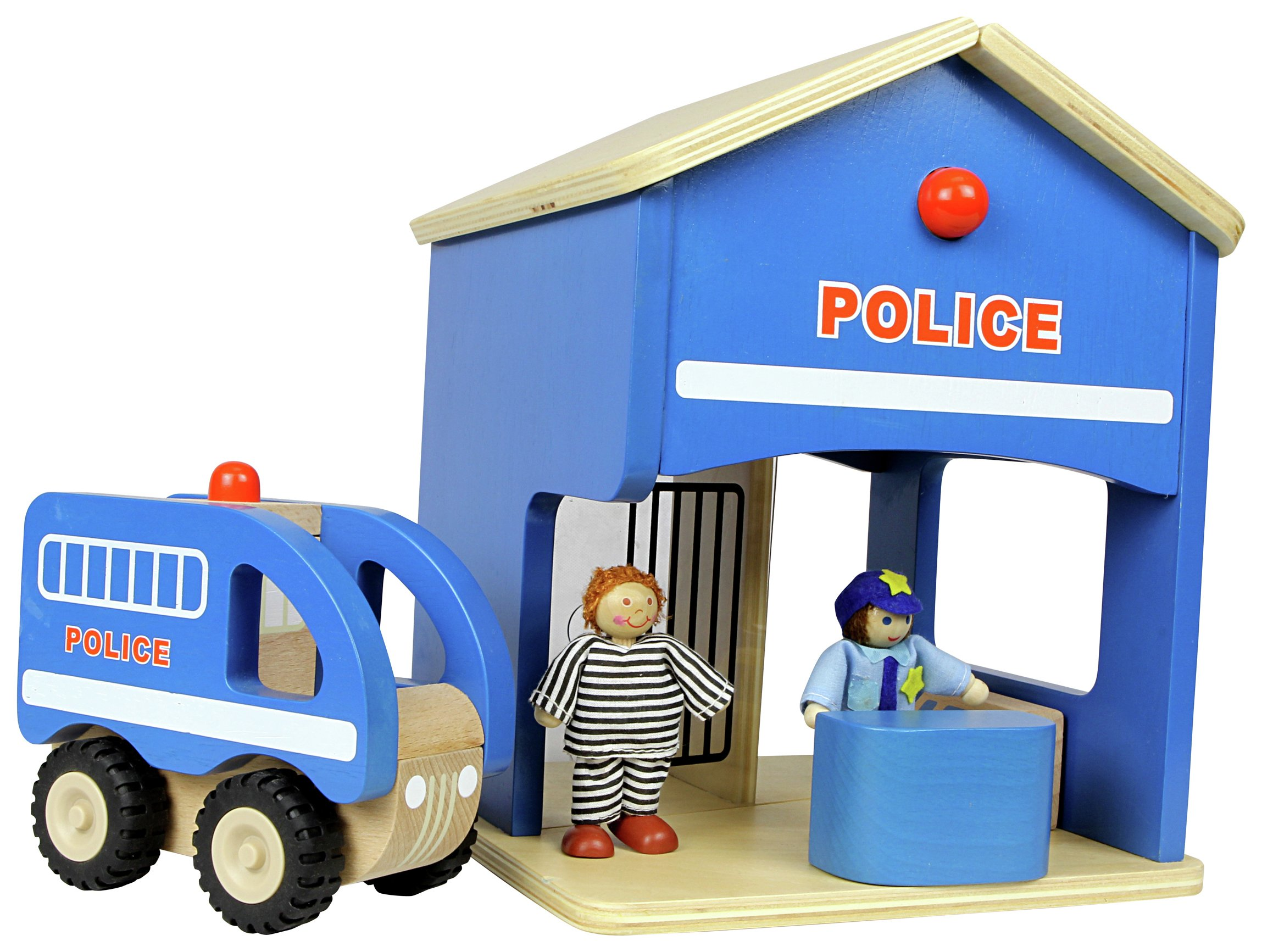 Adventure Wheels Multi Station Police Station With Playmat ...