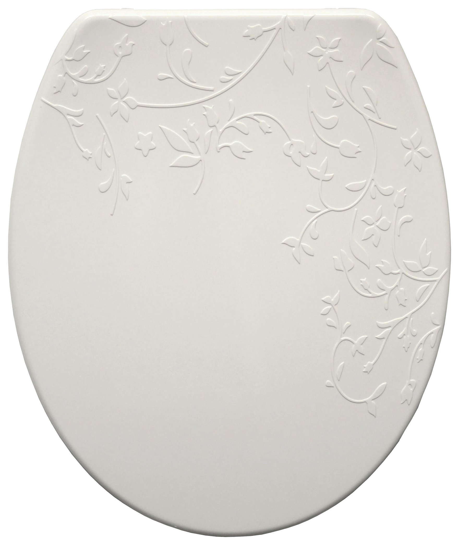 Bemis Fiore Thermoplastic Slow Close Toilet Seat - White