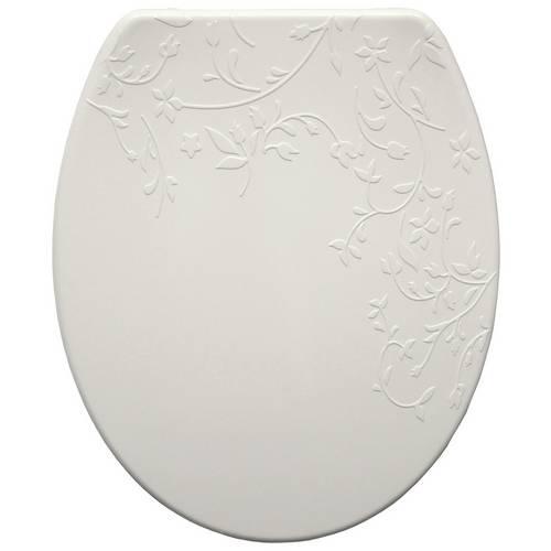 Superb Buy Bemis Fiore Thermoplastic Slow Close Toilet Seat White Toilet Seats Argos Machost Co Dining Chair Design Ideas Machostcouk