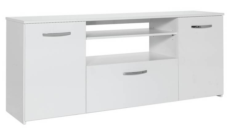 Argos Home Hayward Sideboard and TV Unit - White Gloss