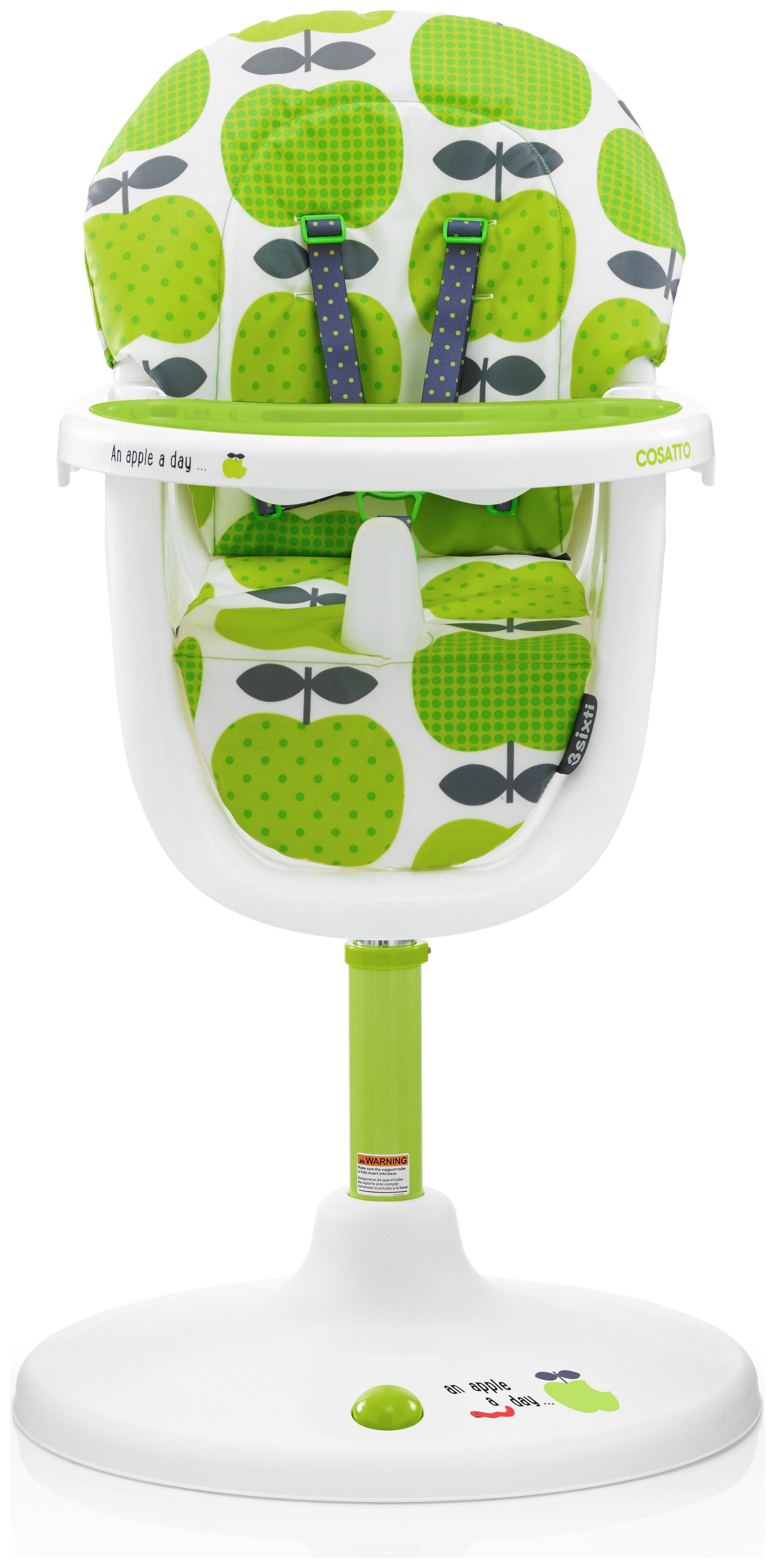 Image of Cosatto 3 Sixti Highchair - Hapi Apples 2.