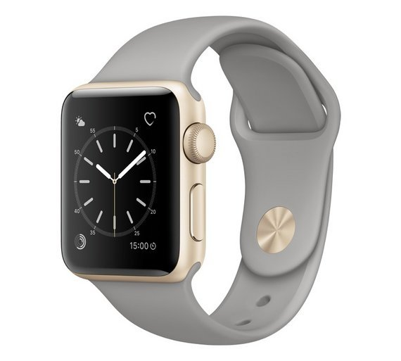 Apple Watch S1 38mm Gold Concrete Sport Band. cheapest retail price